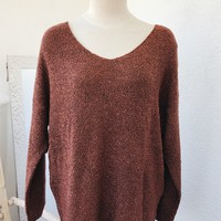 FALL FEVER SWEATER- RUST