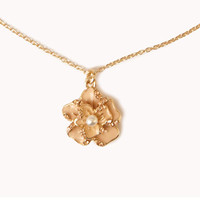 [BOGO] Tropical Flower Charm Necklace