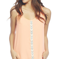 Tribal Trim Tank | Wet Seal