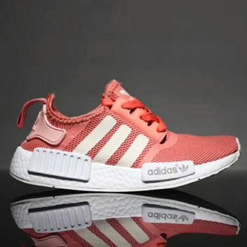 """Adidas"" NMD Women Fashion Trending Sneakers Running Sports Shoes Pink"