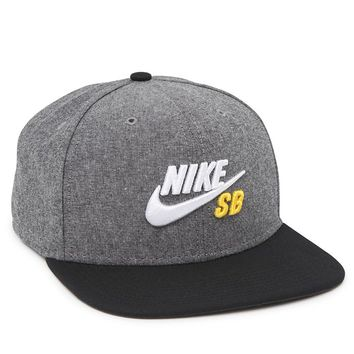 Nike SB QT Chambray Pro Snapback Hat - Mens Backpack - Blue - One