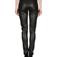Sylvie schimmel Women - Leatherwear - Leather pants Sylvie schimmel on YOOX