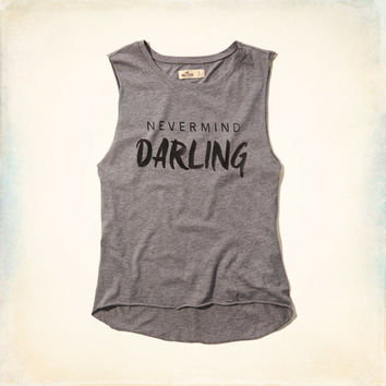 Nevermind Darling Graphic Tank