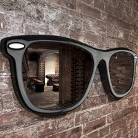 Wayfarer Sunglasses Large Wall Mirror