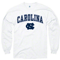 North Carolina Tar Heels White Perennial II Long Sleeve T-Shirt