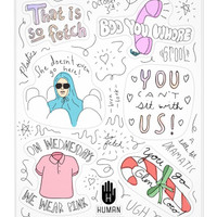 SO FETCH STICKERS - PREORDER