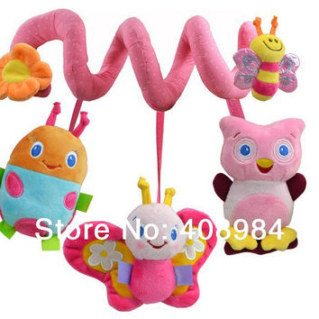 sozzy bed car hanging  BB device / ring paper / teeth glue Baby Rattles/baby mobiles