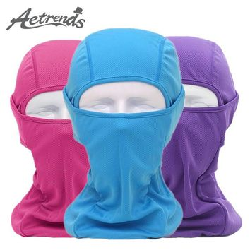 [AETRENDS] Breathable Mash Balaclava CS Full Face Mask Hunting Cycling Masked Hoods Hats Z-5061