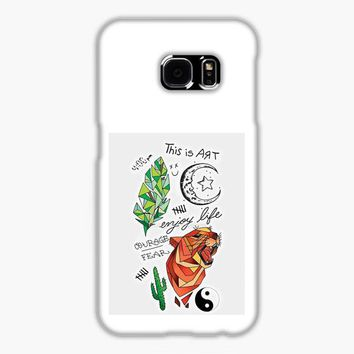 Kian Lawley Tattoos Samsung Galaxy S7 Edge Case