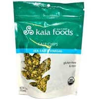 Kaya Foods Kale Chips, Og, Raw, Slt&Vin, 2.20 Ounce