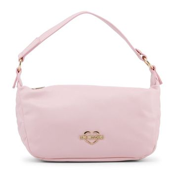 Love Moschino Pink Synthetic Leather Shoulder Bag