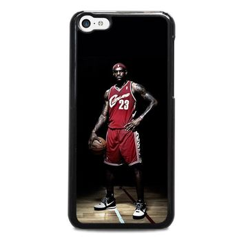 lebron james cleveland iphone 5c case cover  number 1