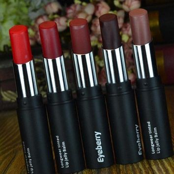 Brand Matte Lipstick Health Lipstick Long Lasting Waterproof Lip Gloss Red Lip Cosmetics Makeup Purple Lipstick