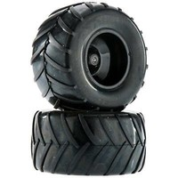 NEW Dromida Wheel/Tire Assembled Black Monster Truck FPV DIDC1207Officially Licensed  AT_69_5