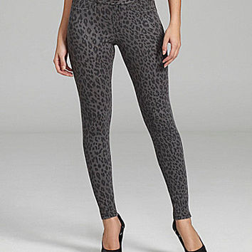 Hue The Original Jeans Leopard Print Leggings | Dillards.com