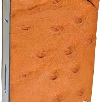 Brizard Genuine Ostrich Tan Porsche Design Lighter