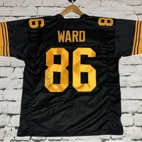 Hines Ward Signed Autographed Pittsburgh Steelers Football Jersey (JSA COA)