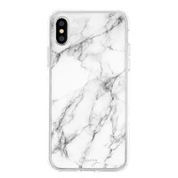 The Casery iPhone Case - White Marble