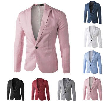 Men's Casual Suit Jacket/Many Color Options