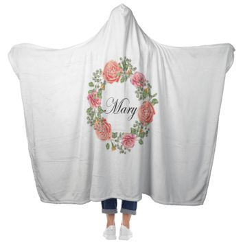Mary - Hooded Blanket with Mittens