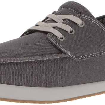 Sanuk Men's Casa Barco Boat Shoe Dark Charcoal 10 D(M) US '