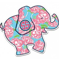 Simply Southern Preppy Stickers Elephant DECAL-ELEPHANT