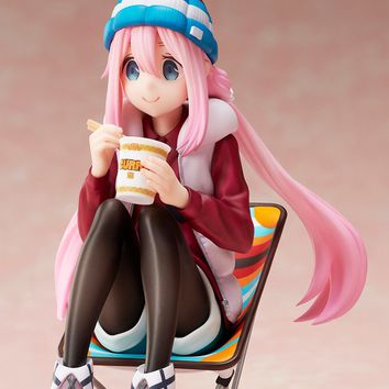 Nadeshiko Kagamihara - Premium Noodle Stopper - 1/8th Scale Figure - Laid-Back Camp (Pre-order)