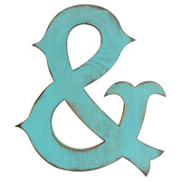 Circus Ampersand, Teal, Signs