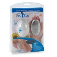 PedEgg™ Professional Pedicure Foot File with Emery Boards