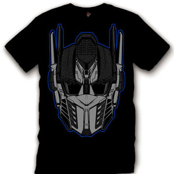 The Fresh I Am Clothing Optimus Sport Blue 3s Black Tee