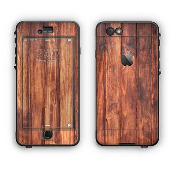 The Bright Stained Wooden Planks Apple iPhone 6 Plus LifeProof Nuud Case Skin Set
