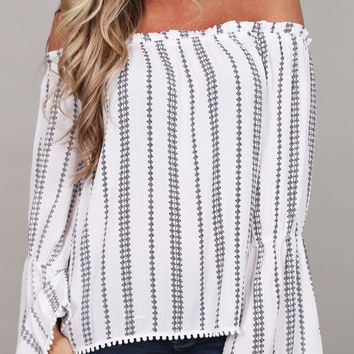 Tahiti Sweetie Off The Shoulder Top