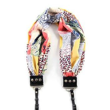 Patchwork Scarf Camera Strap - Capturing Couture - CASCARF-PTCH