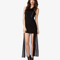 Studded High-Low Dress | FOREVER 21 - 2074813265