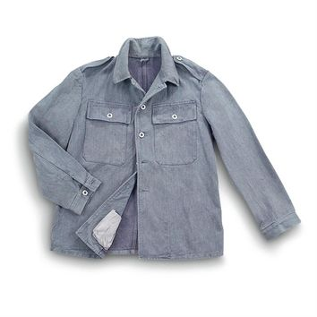 8-Pk. of Used Swiss Denim Work Jackets - 197217, Uninsulated Jackets & Coats at Sportsman's Guide