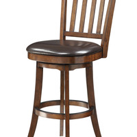 INSPIRED by Bassett Mission Bar Stool