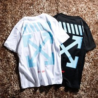 Best Deal Online Men's OFF-White Fashion T-Shirt 8037