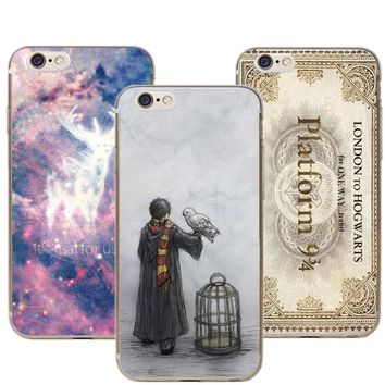Avada Kedavra Bitch Harry Potter Hard Phone Cases Cover For iPhone 5 5S SE 6 6S Plus 7 7Plus 8 8Plus X Hogwarts Train Ticket
