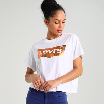 Levis Woman Men Fashion Tunic Shirt Top Blouse