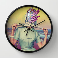 Bay View Wall Clock by Eugenia Loli