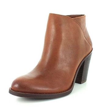 Lucky Brand Eesa Chipmunk Hilary Leather Booties