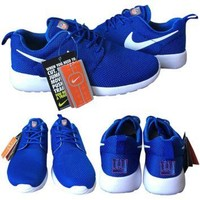 Nike New York Giants London Olympics Royal Blue Shoes