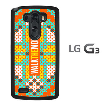 walk the moon LOGO X0388 LG G3 Case