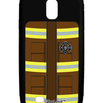 Firefighter Brown AOP Galaxy S4 Case All Over Print