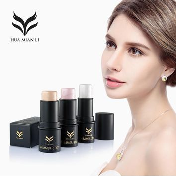 highlighter Bronzer rods mineral 3D  moonchild powder skin frost glow kit Carry bright shadow Concealer pen haylaytar makeup
