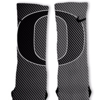 Oregon Ninja Ducks Custom Nike Elite Socks Fast Shipping!! Nike Elite Socks Customized