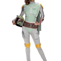 Adult Sassy Boba Fett Costume - Star Wars- Party City