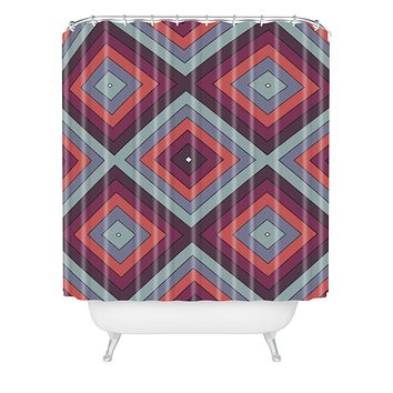 Shannon Clark Jewel Shower Curtain