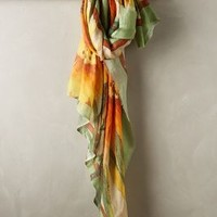 Prairie Sunflower Scarf by Flappers Yellow One Size Scarves