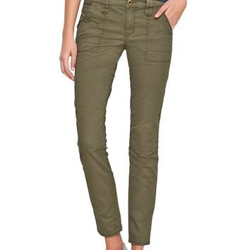 Gap Women Factory Skinny Military Pants